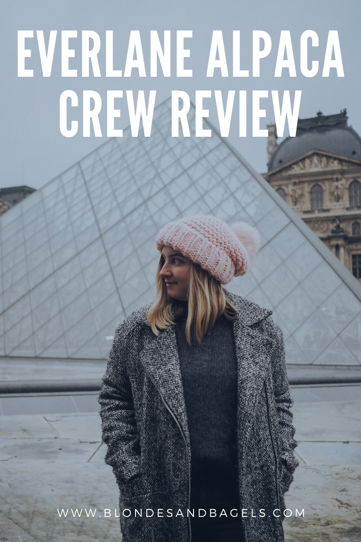 everlane alpaca crew review