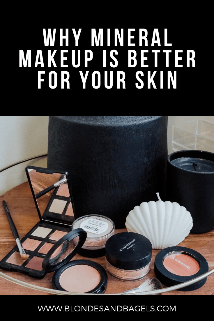 Kelsey from Blondes and Bagels reviews the best mineral makeup products and explains why mineral makeup is better for your skin.